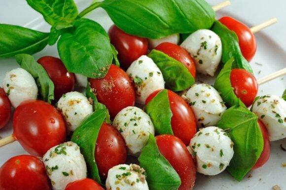 Italai tikrai gerai išmano, su kuo derinti pomidorus