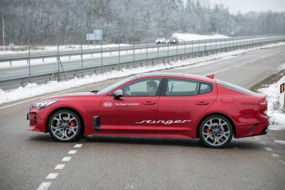 Automobilio dizainą kūrė pripažinti specialistai