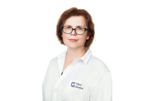 Ginekologė Giedrė Kapūstienė