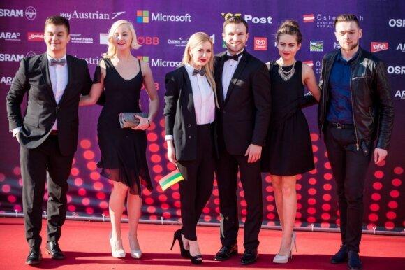 """Lietuvos atstovai """"Eurovizijoje"""""""