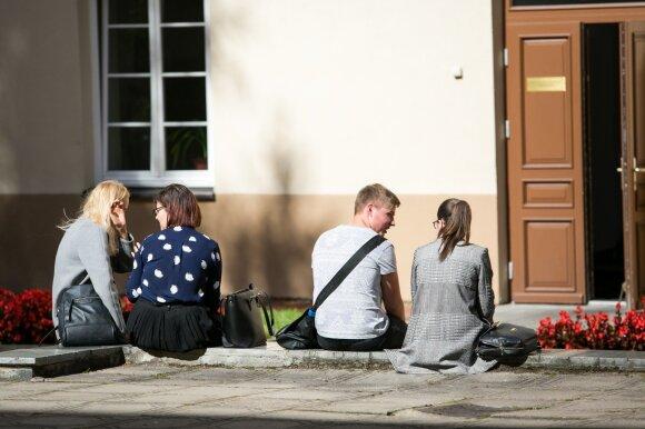 Studentai
