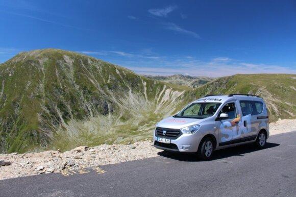 Su Dacia Dokker - į Rumuniją