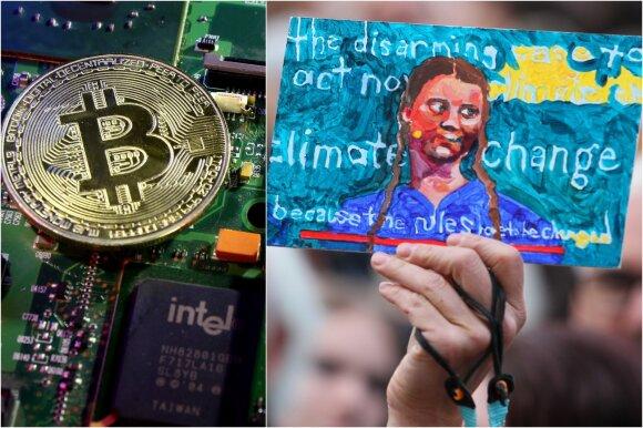 Kriptovaliutos ir klimato kaita