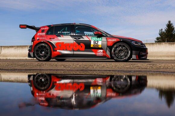 Lietuvis papasakojo, kas slepiasi Vokietijos TCR čempionato serijos užkulisiuose