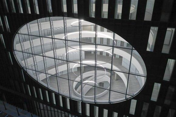 Vilniuje baigtos verslo centro U219 statybos: projektas pastebėtas ir užsienyje