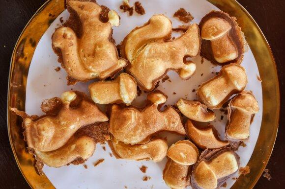 Legendinis grybukų, voveraičių ir gaidelių – receptas