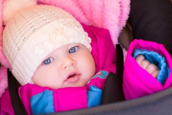 Kaip tinkamai rengti vaikus žiemą: rekomendacijos pagal amžių ir oro temperatūrą