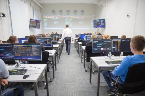 KTU Informatikos fakulteto studentai