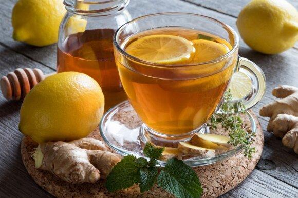 Arbata su citrina ir medumi