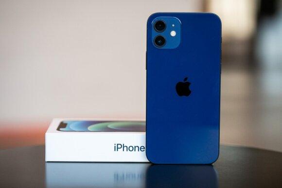 """Vieni jų nekenčia, kiti dievina: naujųjų """"iPhone 12"""" ir """"Pro"""" apžvalga"""