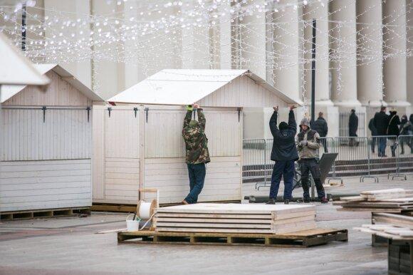 Pasimokė iš klaidų: Vilnius turi gerų žinių dėl kalėdinio miestelio