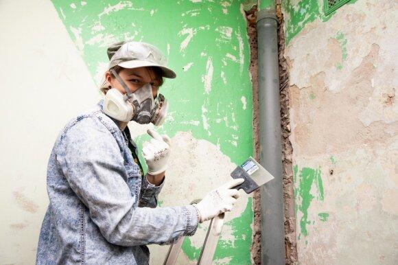 Panevėžio rajono kultūros įstaigos paskendo statybinių dulkių debesyse: rado, kaip išnaudoti karantiną