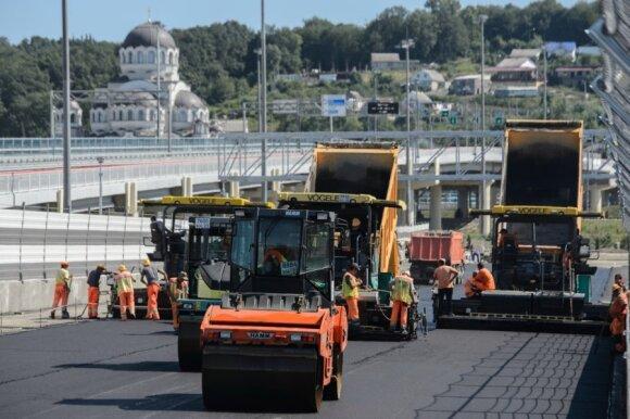 """Sočyje dygsta nauja """"Formulės-1"""" lenktynių trasa"""