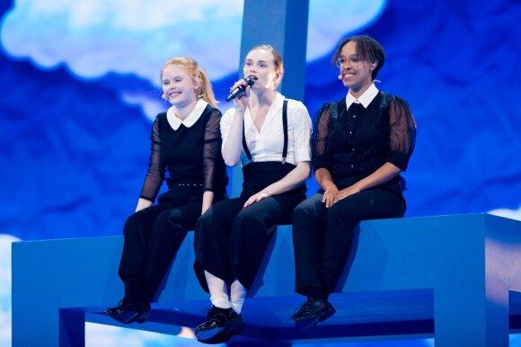 Eurovizijos finalas. Danija: Leonora – Love Is Forever
