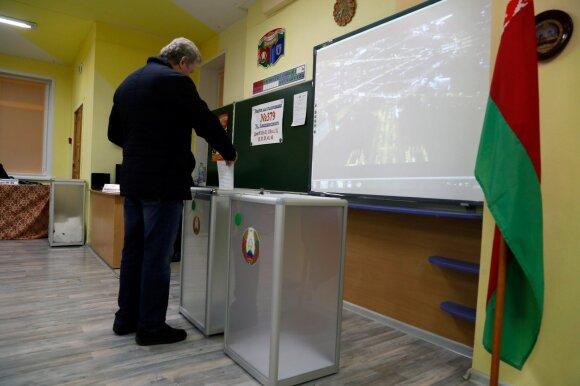 Parlamento rinkimai Baltarusijoje