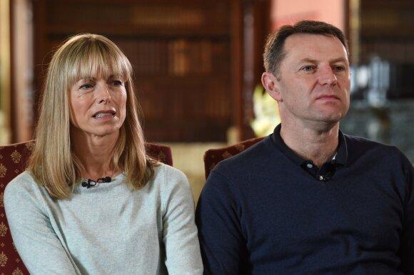 Madeleine McCann tėvai