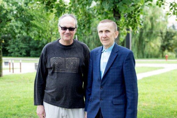 Fabio Savianas ir Jonas Navikas