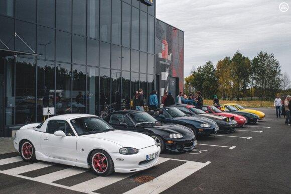 """""""JapMeet"""" japoniškų automobilių vairuotojų susitikimas / Žilvinas Kuprėnas – Fotobros.lt nuotr."""