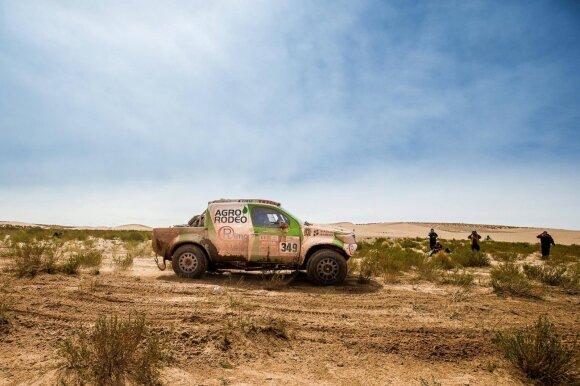 Aštuntasis Dakaro ralio etapas V. Žalos komandos akimis