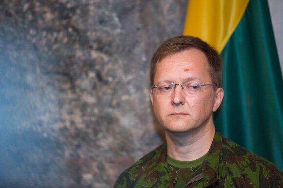 Materialinių resursų departamento direktorius plk. ltn. Konstantinas Andrejevas