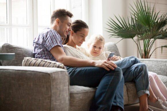 Penkios programėlės visai šeimai: nuo receptų iki buvimo vietos nustatymo