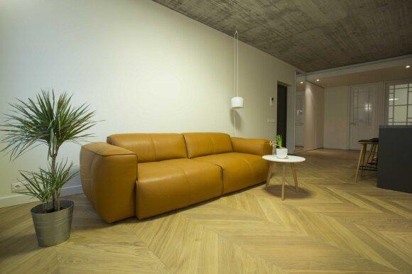 80 kv.m butas Vilniuje: modernaus gyvenimo būdo atspindžiai