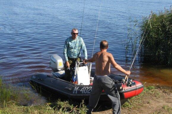Kai kuriuose ežeruose žuvų yra nemažai