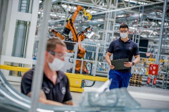 Automobilių gamykla Vokietijoje