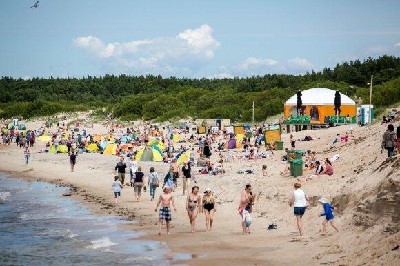 Palangos paplūdimiams gydyti – naujas planas