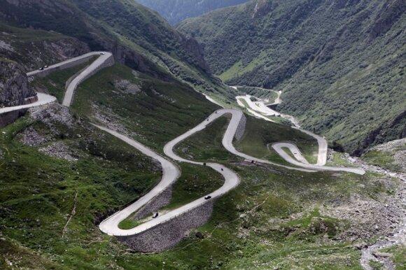 Stelvio Pass kelias