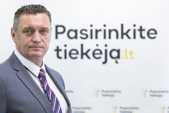 ESO Paslaugų tarnybos direktorius Renaldas Radvila