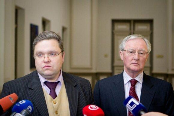 Vitas Vasiliauskas ir Neilas Cooperis