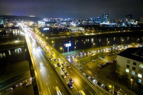 Įspėja sostinės vairuotojus: rugsėjo pradžia bus labai sunki