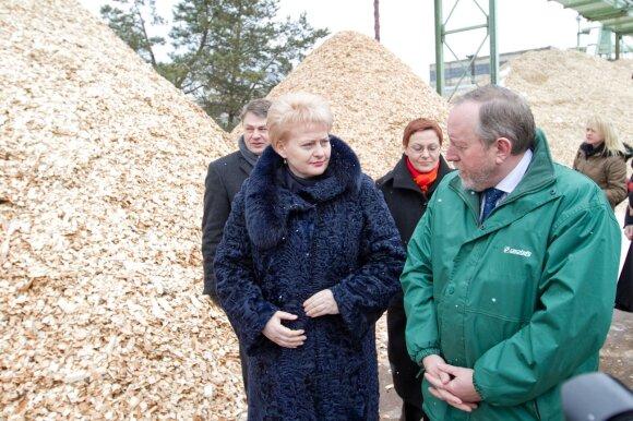 Dalia Grybauskaitė ir Gintautas Pangonis