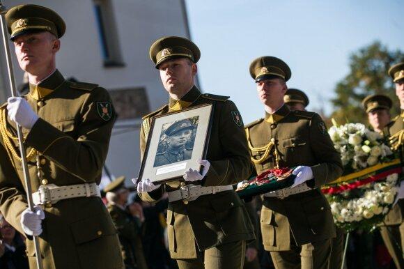 Valstybinės Adolfo Ramanausko Vanago laidotuvės