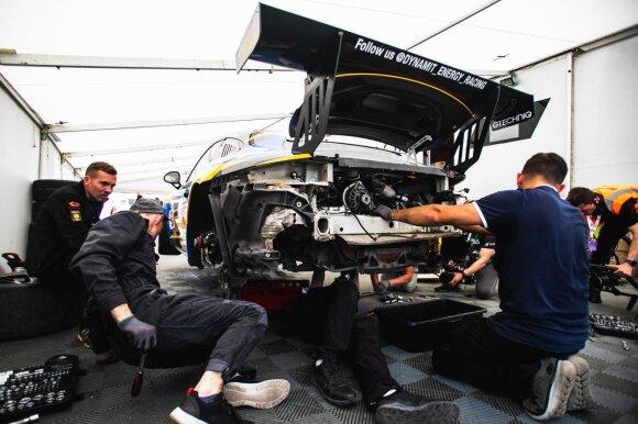 """Dynami:t"" komandos ""Porsche"" 1006 km lenktynių starte nebepasirodys"