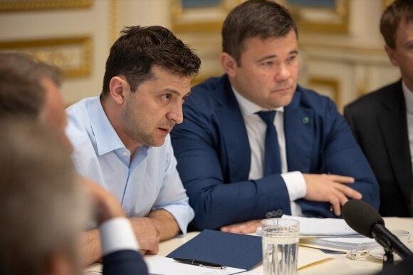 Volodymyras Zelenskis, Andrejus Bogdanas