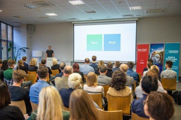 """""""BZN start"""" konferencija """"NEXT Economy"""" / Irmanto Gelūno nuotr."""