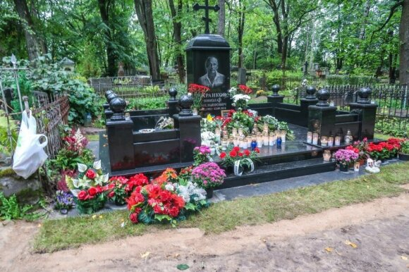 Nikolajus Tarankovo laidotuvės