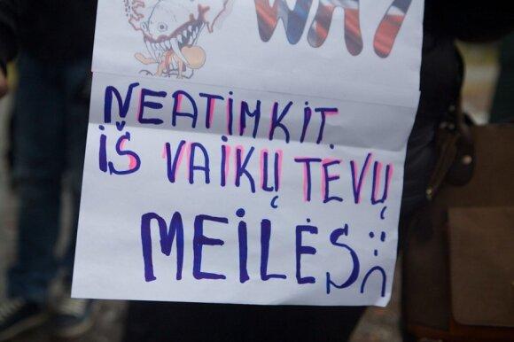 """Vis dar kovojanti Leščinskienė kritikuoja """"Barnevernet"""": jų pasiteisinimai – juokingi"""