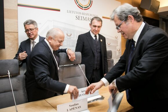 Saulius Lapėnas, Vytautas Kamblevičius, Arvydas Juozaitis