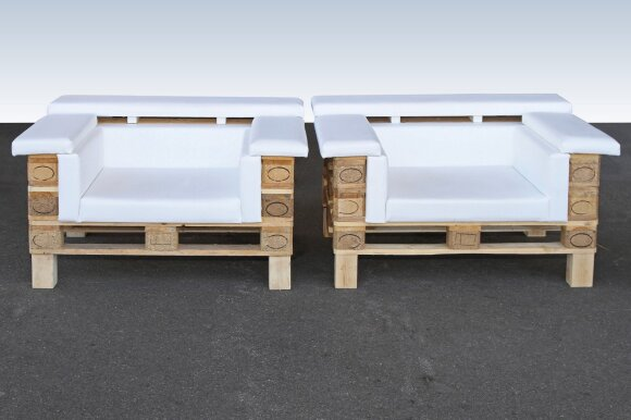 Darau pats: sumanūs būdai, kaip statybines atliekas paversti lauko baldais