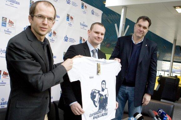 Norbertas Pranckus (kairėje)