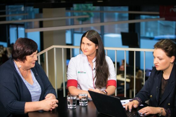 Milda Žigutienė, Laura Vanagaitė, Kristina Ciparytė