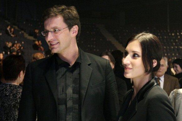 Modestas Pitrėnas ir Ieva Prudnikovaitė-Pitrėnė