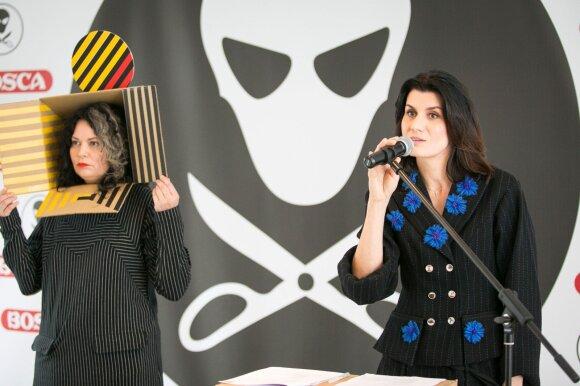 Sandra Straukaitė ir Renata Mikailionytė