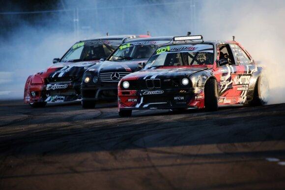 Giedriaus Matulaičio užfiksuotos autosporto renginių akimirkos