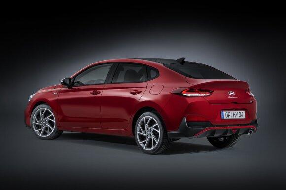 "Naujasis ""Hyundai i30 N Fastback"""