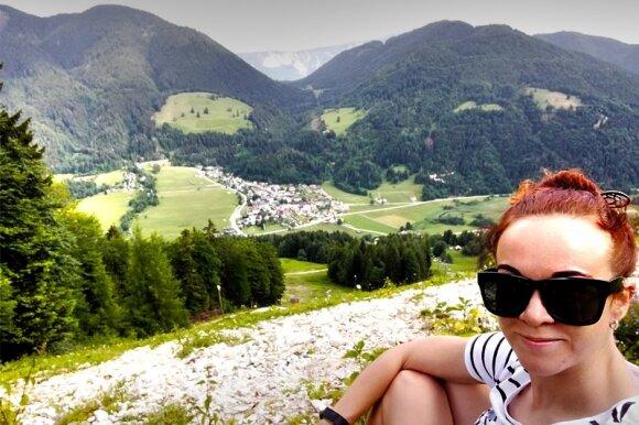 Atostogos nykštukinėje Slovėnijoje: kompaktiškasis kalnų, upių ir bičių kraštas