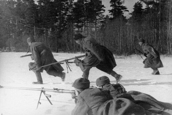 Lietuviai Rytų fronte 1944 m.